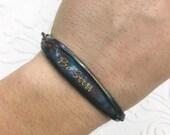 Be Still Patina ID Spoon Handle Bracelet