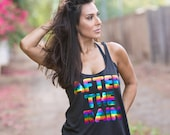 After The Rain. Slouchy Racer Tank. Made in the USA. 8 Colors to Choose From. Comfy Lounge Tank. Rainbow Tank. Custom Tank Top. Workout Tank
