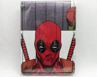 Sewn Comic Book Wallet - Deadpool