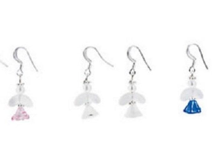 Pastel Angel Earrings