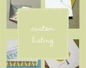custom listing for sherrymturner