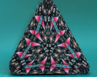 CLEARANCE SALE - Polymer Clay Triangle Cane (10C)