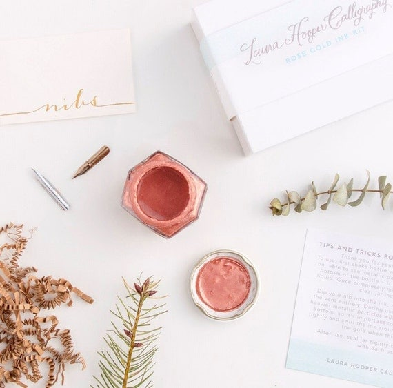 Rose Gold Calligraphy Kit Add On