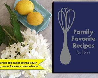 gift for men recipe book recipe journal boyfriend gift husband gift for him