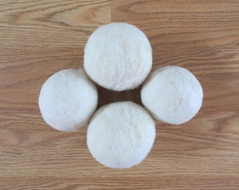 Dryer Balls Tunis Wool Set of four