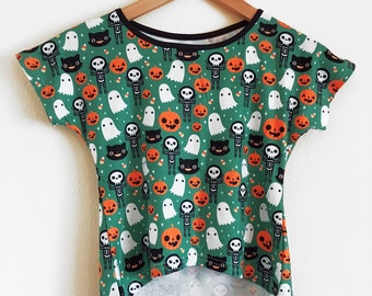 Halloween Crop Top - Size S - CLEARANCE