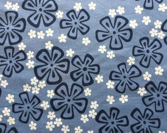 Surfin Pareo - Fabric by the Yard - Blue Alexander Henry