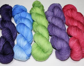 Dyed to Order - Fresh Blooms 2 Hand Dyed Yarn Set