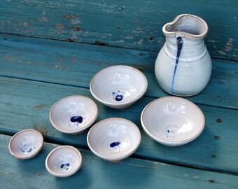 San San Kudo Sake Set in Shale- Made to Order
