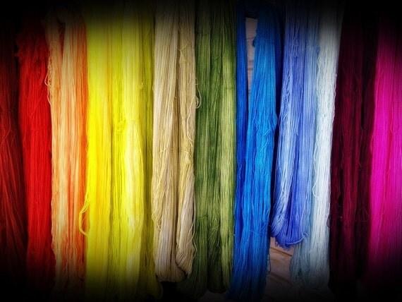 Matching Half-Skeins - Dyed to Order - Hand Dyed - Merino Wool Yarn - Fingering Weight