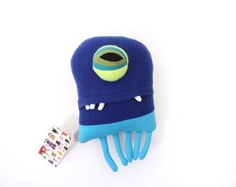 "Sea Creature Plush ""Blorb"" Jelly Cotton Monster"