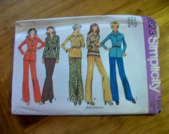 Simplicity 6623 Blouse and pants plus size sewing pattern