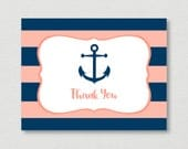 Nautical Thank You Card /...