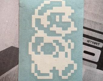 Nintendo Mario Bros. Mario Inspired Car, Laptop, or Decor Vinyl Decal