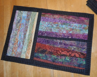 placemats - paper pieced - REDUCED
