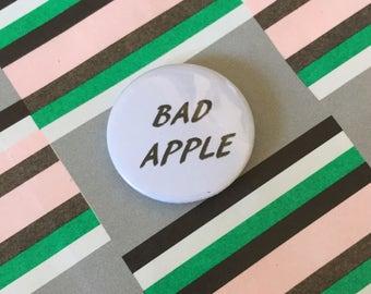 Bad Apple Pin Badge