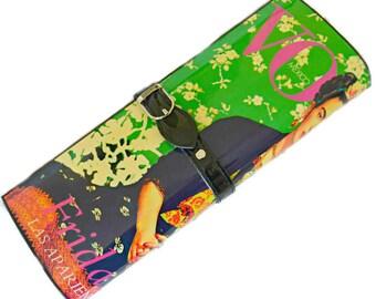 SALE Frida Kahlo Handbag Clutch Shoulder Bag Purse Magazine Exclusive Designer Bag by ARTDECADENCE Frida Vintage Style Boho Retro