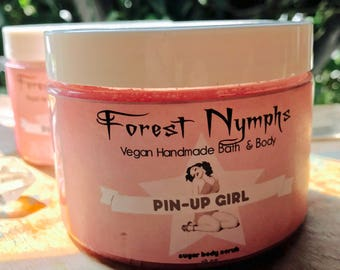 PIN UP GIRL Sugar Body Scrub 20oz