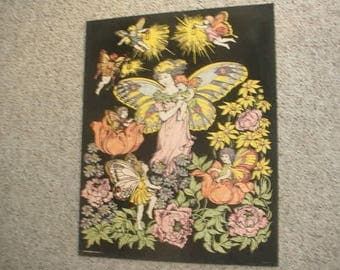 older Angel woman poster 16 x 20 see add