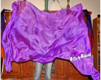 "Sahariah's Silk Belly Dance Veil Rectangle original ""Killer Silk"" 3 Yard Rectangle Veil SALE"