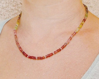 Sparkly Tourmaline Necklace.