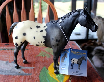Breyer Chief of Fourmile 1999 commemorative edition #752 #7363 of 10000 - RESTORATION PROJECT antique toy pony for custom bait