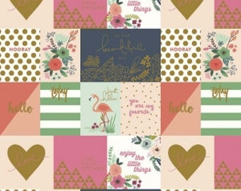 On Trend Notecards Multi Sparkle Metallic  - Jen Allyson for My Mind's Eye for Riley Blake Fabrics - You Select the Size