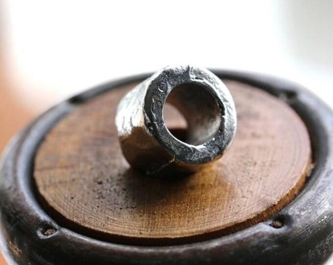 SALE .. CHUNKY BARRELS .. 1 Mykonos Greek Barrel Beads 10-11mm (M85-1)