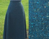 Sanctuary 50s Plaid Tweed Skirt 30 Waist