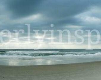 Carolina Beach North Carolina panorama photo beach Atlantic Ocean