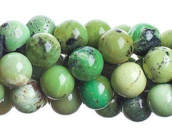 10 Pieces Natural Semi Precious Australian Jade Stone - Round (630)