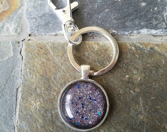 Fairy Dust glitter key ring