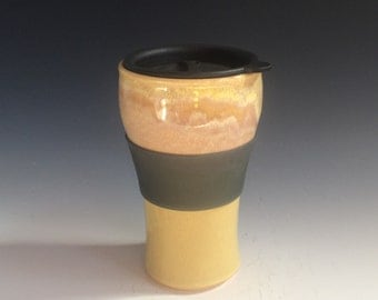 Travel Mug- Sunshine Yellow #2