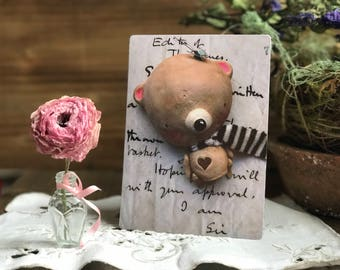 A Beary Sweet Magnet