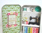 Tiny Tin Sewing Room ~ Create Something Beautiful Every Day