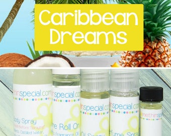 Caribbean Dreams Perfume, Perfume Spray, Body Spray, Perfume Roll On, Perfume Sample, Dry Oil Spray, Perfume Oil, You Choose the Product