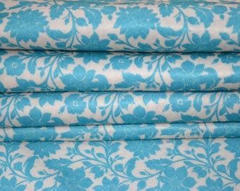 Acqua Blue Printed Felt Printed Felt Sheet
