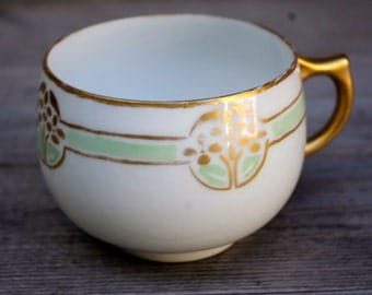 Hand Painted Tea Cup