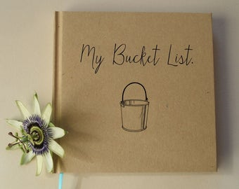 CUSTOM Graduation Gift Journal · Personalized Bullet Journal Notebook · My Bucket List · My Graduation Book · Graduation Party Decoration