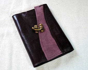 2017 Refillable Purple Leather Planner