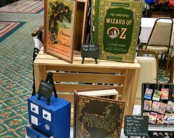 Large Book Jewelry Box -  Wooden Jewelry Box -  Wood Jewelry Box