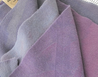 Dusty Lavender Blendable Wool Packets//felted 100% wool for rug hooking, appliqué, sewing, quilting//4 blendable colors by Karen Kahle