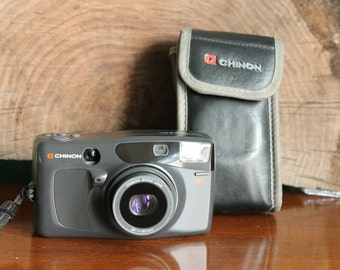 Chinon Pocket Zoom Point and Shoot camera working