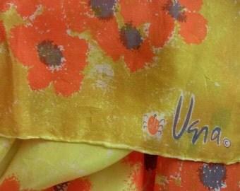 Vintage Vera Fall Flowers Scarf