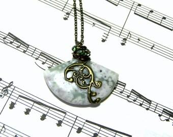 Jasper Pendant Peace Stone Jasper Fan Pendant Gift Ideas Most Popular Jewelry Top Selling Jewelry Gifts