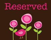 RESERVED FOR - Wendy