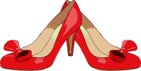 red bow high heel shoes clip art png clipart jpg digital download graphics transparent images womans shoe fashion printable art printables