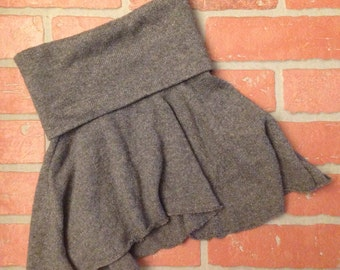 3T - 6 Girls Asymmetrical Sweater Skirt