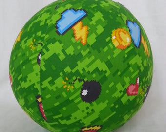 Balloon Ball TOY - video game lover - minecraft & mario brothers - tween Birthday Gift