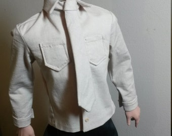 Trent Osborn Doll -  Beige Shirt and Tie Set